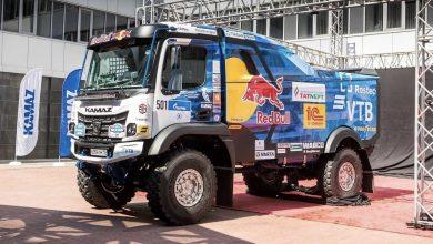 KAMAZ Master și-a prezentat noul camion de competiție