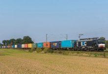 Maersk a organizat primul tren bloc între Spania și China