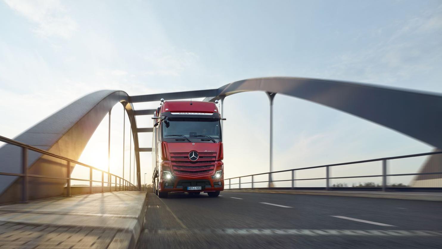 După Actros F, Mercedes-Benz a lansat modelul Actros L