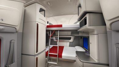 Peterbilt Ultraloft: cabina în care chiar pot dormi doi șoferi