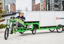 Cei mai mici colegi: tricicleta cu semiremorcă pentru livrări urbane