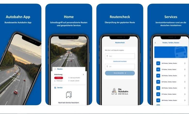 Autobahn App: Informații despre locurile de parcare și condițiile de trafic din Germania
