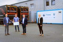 Krone oferă un nou container sanitar, cu toalete și dușuri pentru șoferi