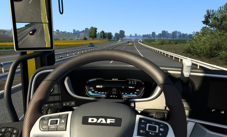 Noua generație DAF poate fi condusă în ETS 2