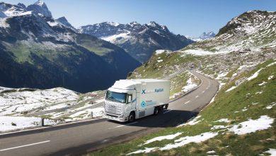 Camioanele Hyundai cu hidrogen din Elveția au depășit 1 milion km