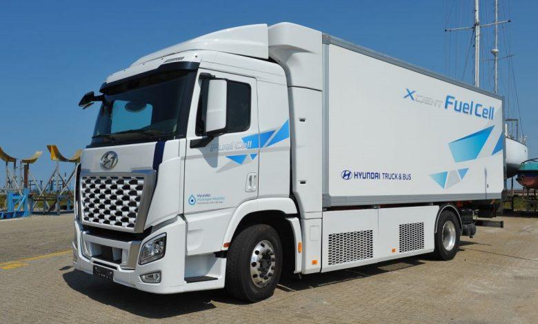 Primul Hyundai Xcient Fuel Cell alimentat cu hidrogen din Olanda