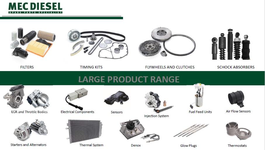 Cauți piese de calitate pentru camioane și utilitare? Răspunsul este MEC-DIESEL