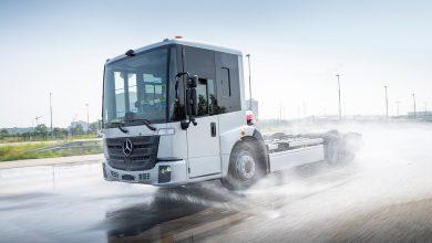 Mercedes testează al doilea camion electric al mărcii, eEconic