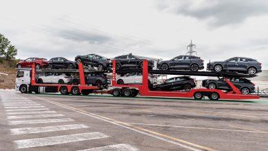 SEAT folosește primul transportor auto de 25,25 metri lungime