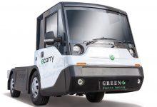 Green-G ecarry, camion electric ușor cu baterii Webasto