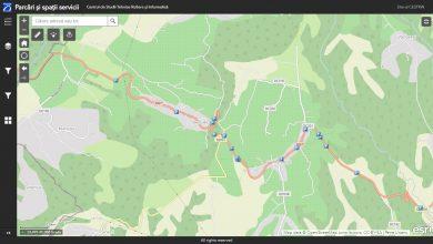 Aplicație CNAIR pentru parcările și spațiile de servicii din România