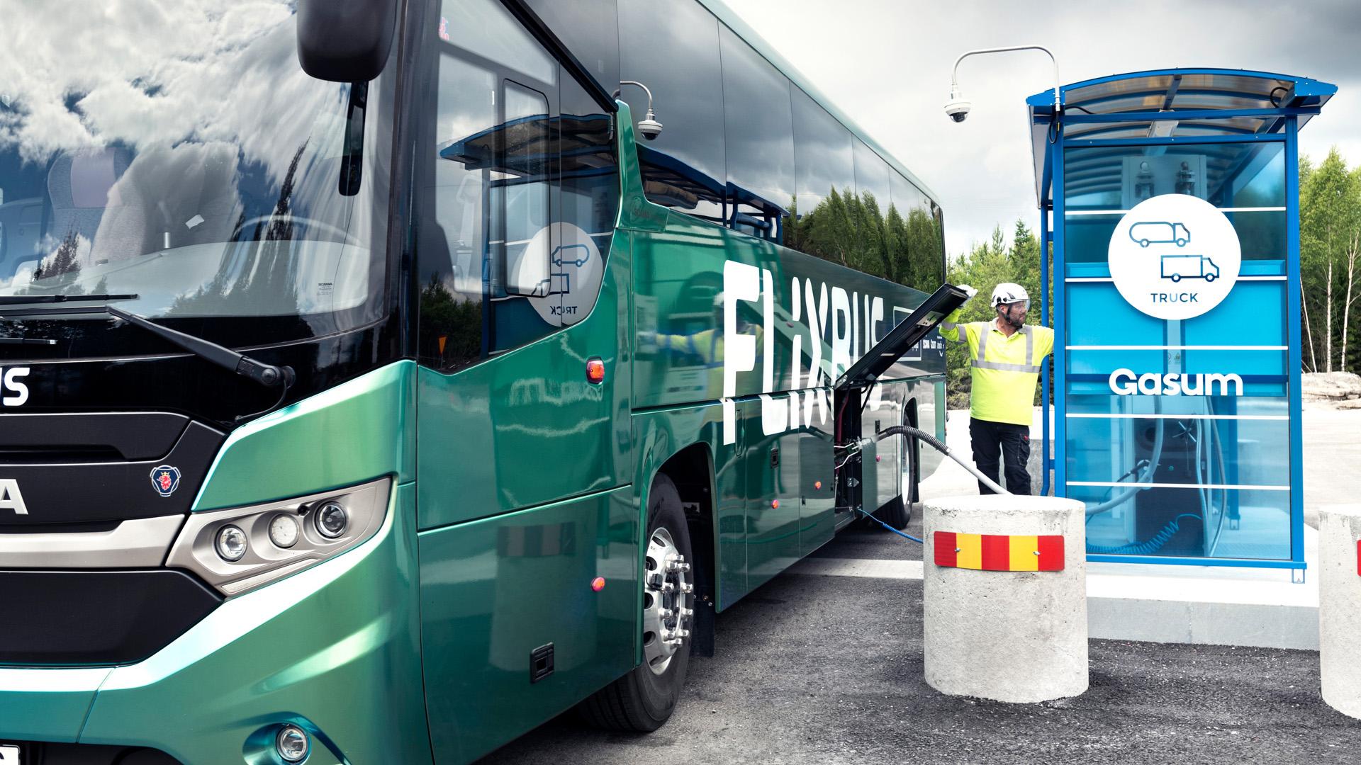 Primul autocar pentru distanțe lungi alimentat cu biogaz