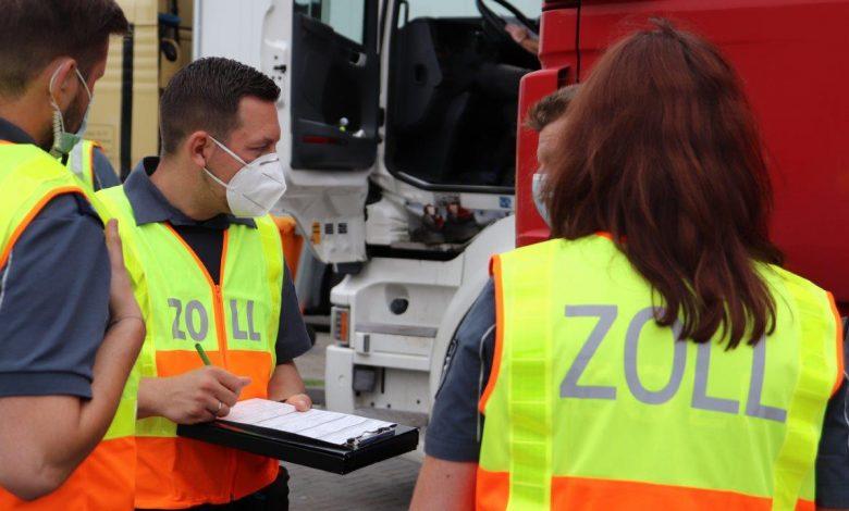 Control privind angajările ilegale din transport și logistică, în Germania