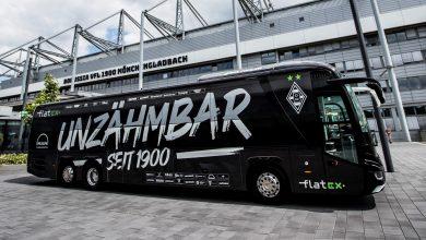 Un nou autocar de echipă MAN pentru Borussia Mönchengladbach