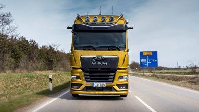 Camioanele MANvin și ele cu un sistem de camere video OptiView
