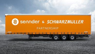 Prelată gratuită Sennder pentru remorcile Schwarzmüller