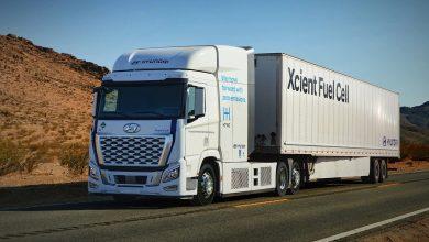 Hyundai a prezentat versiunea XCIENT Fuel Cell cap tractor