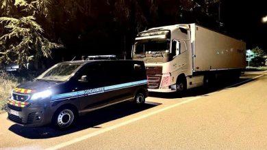 Franța   Șofer de camion prins că a rulat cu 145 km/h, fără centură și drogat