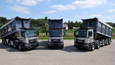 Primele camioane cu 5 axe din noua generație MAN TGS