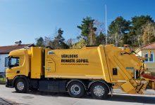 Primul camion de gunoi alimentat cu hidrogen din Suedia