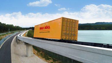 Teste cu suspensie magnetică pentru transport de containere la Portul Hamburg