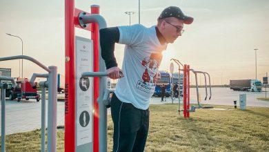 Un nou studio de fitness în aer liber pentru șoferii de camion