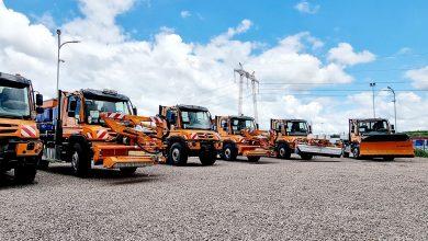 A fost livrată prima tranșă de 45 de camioane Unimog pentru CNAIR