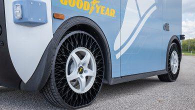 Goodyear testează anvelopa fără aer pe autobuze autonome