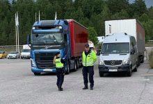 Suedia | Control care au vizat respectarea legislației în transport