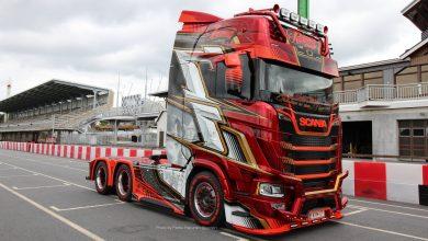 Scania S650 cu design inspirat de mașinile de Formula 1 (FOTO)