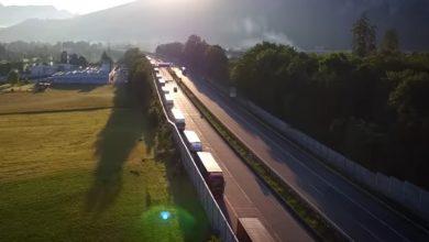 Statul Tirol anunță mai multe zile de manipulare în bloc a camioanelor în 2022