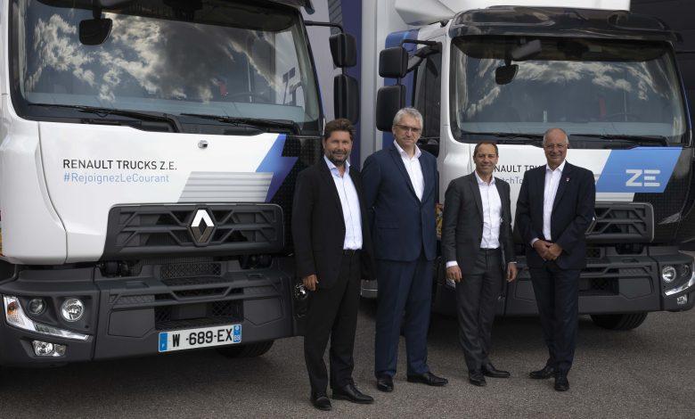 Urby cumpără 20 de camioane electrice Renault Trucks D Z.E.