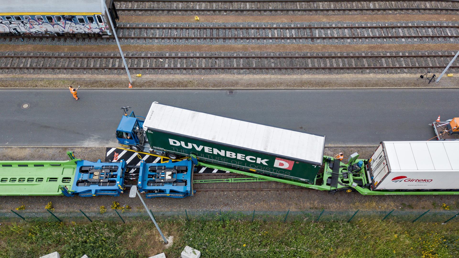 Portul din Viena intră pe piața transportului de semiremorci neînsoțite pe calea ferată