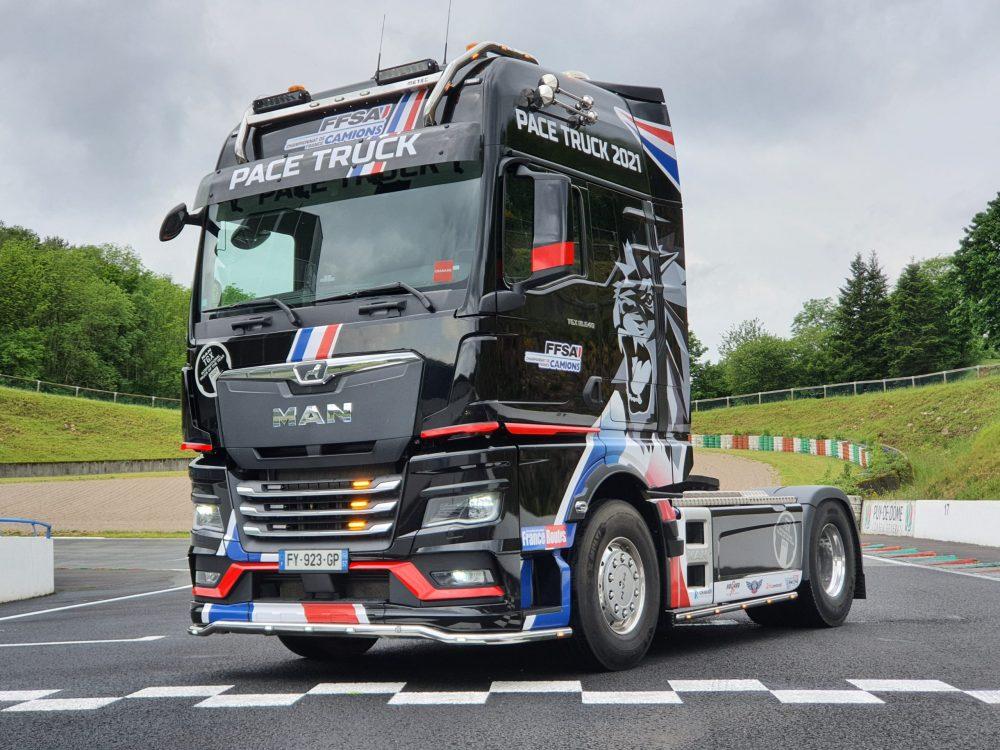 MAN TGX Pace Truck 2021