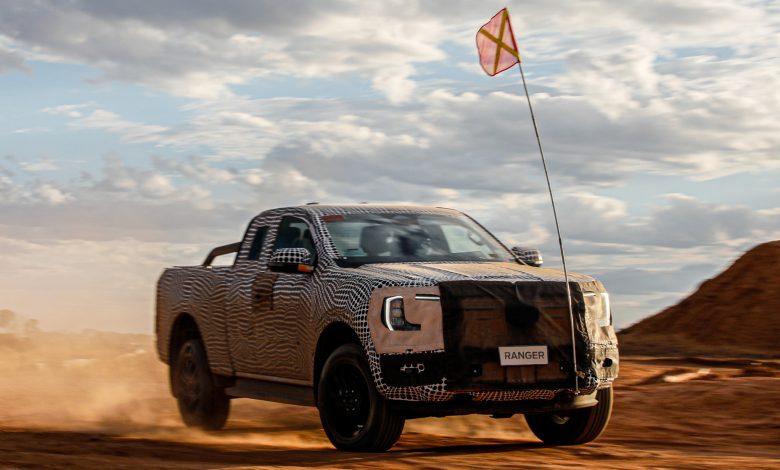 Primul teaser oficial cu noul pick-up Ford Ranger