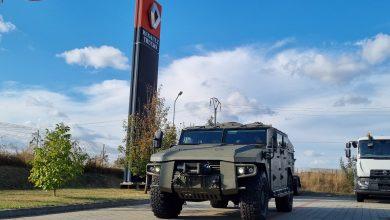 Arquus a prezentat familia de vehicule blindate ușoare Sherpa în România