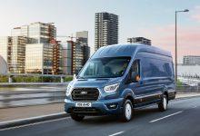 Ford Transit 2022 vine cu noi funcții conectate, SYNC 4 și sisteme de asistență în standard