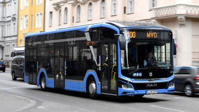 """""""Linie albastră"""" de autobuze electrice pentru vizitatorii IAA 2021"""