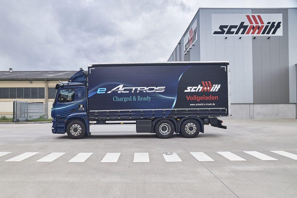 Mercedes eActros intră în producție la 7 octombrie