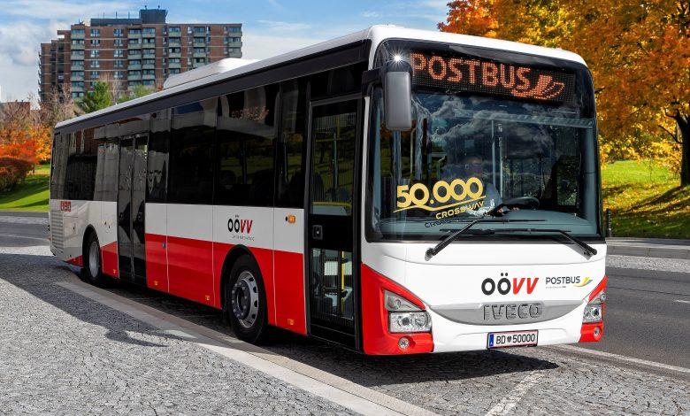 IVECO BUS a livrat modelul Crossway cu numărul 50.000