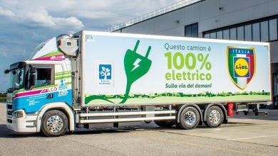 Camion electric Scania pentru Lidl Italia
