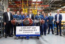 DAF Trucks Flandra a produs 3 milioane de axe în 50 de ani