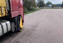 Camion străin blocat pentru cabotaj ilegal, în Suedia