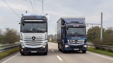 Camionul cu hidrogen Mercedes GenH2, testat pe drumuri publice