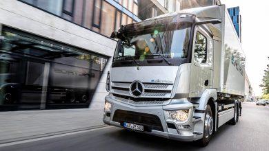 Totul despre camionul electric Mercedes eActros