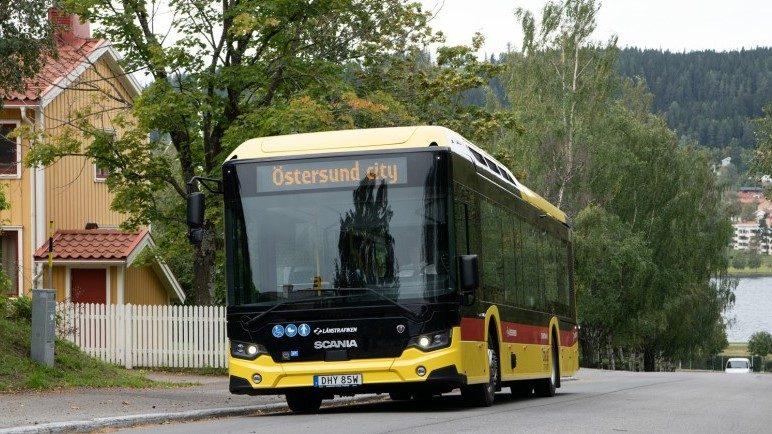 Noi autobuze electrice Scania în orașul suedez Östersund