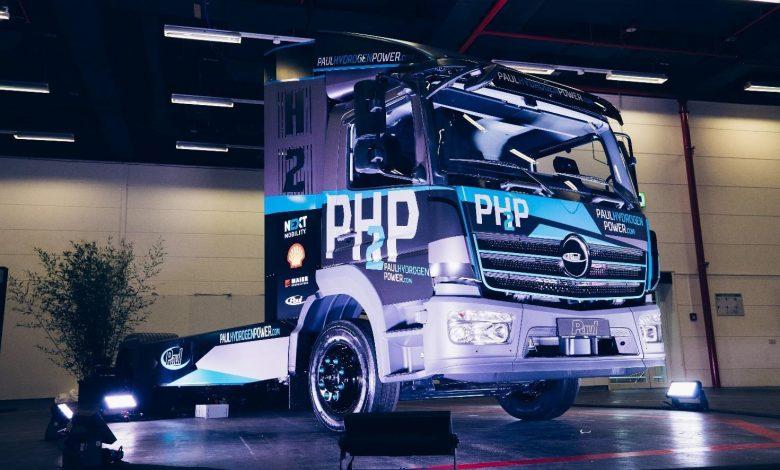 Shell va comercializa un camion alimentat cu hidrogen