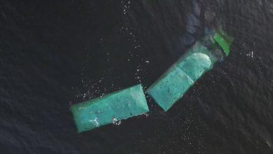 Camion căzut de pe feribot, în Danemarca (VIDEO)