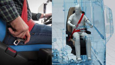 Cum funcționează centura de siguranță în trei puncte?