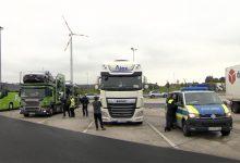Foarte multe camioane cu defecte depistate pe A7, în Germania